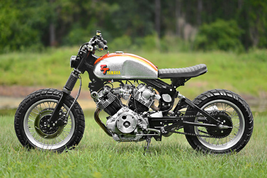 Greg Says Ive Been Building A Ton Of Cafe Racer Viragos And Wanted To Build An Aggressive Upright Bike With More Street Fighter Style